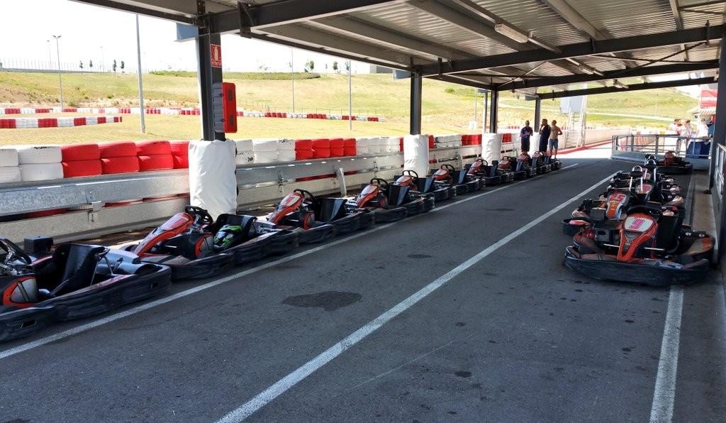 Boxes Karting de Navarra