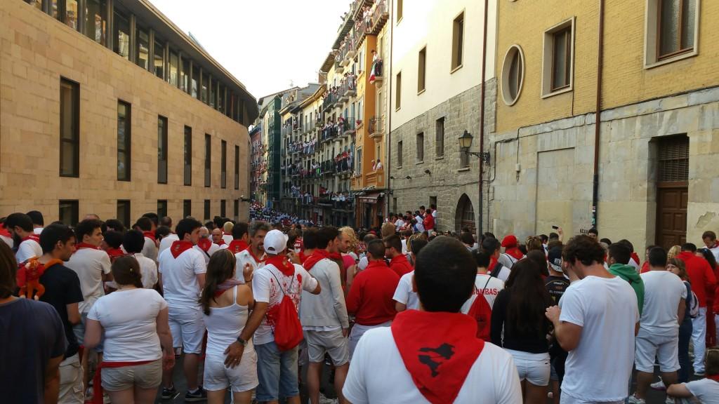 Encierro San Fermín, calle estafeta