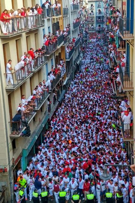 San Fermín, antes del encierro