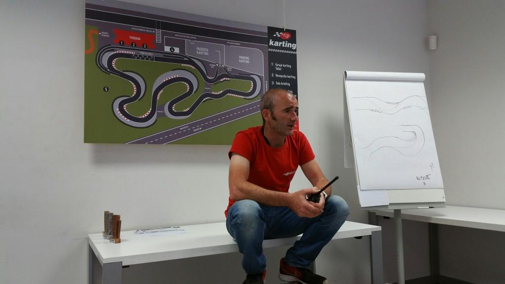 Sergio Circuito de Karting de Navarra