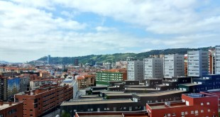 Vistas desde una de las habitaciones del Hotel Gran Bilbao