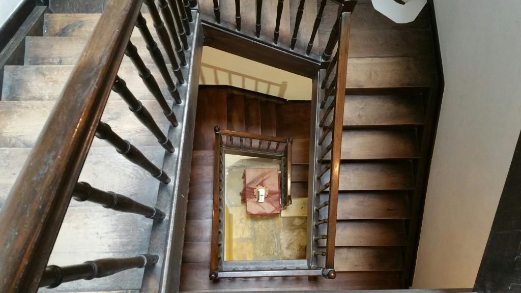 Escaleras casa Víctor Hugo