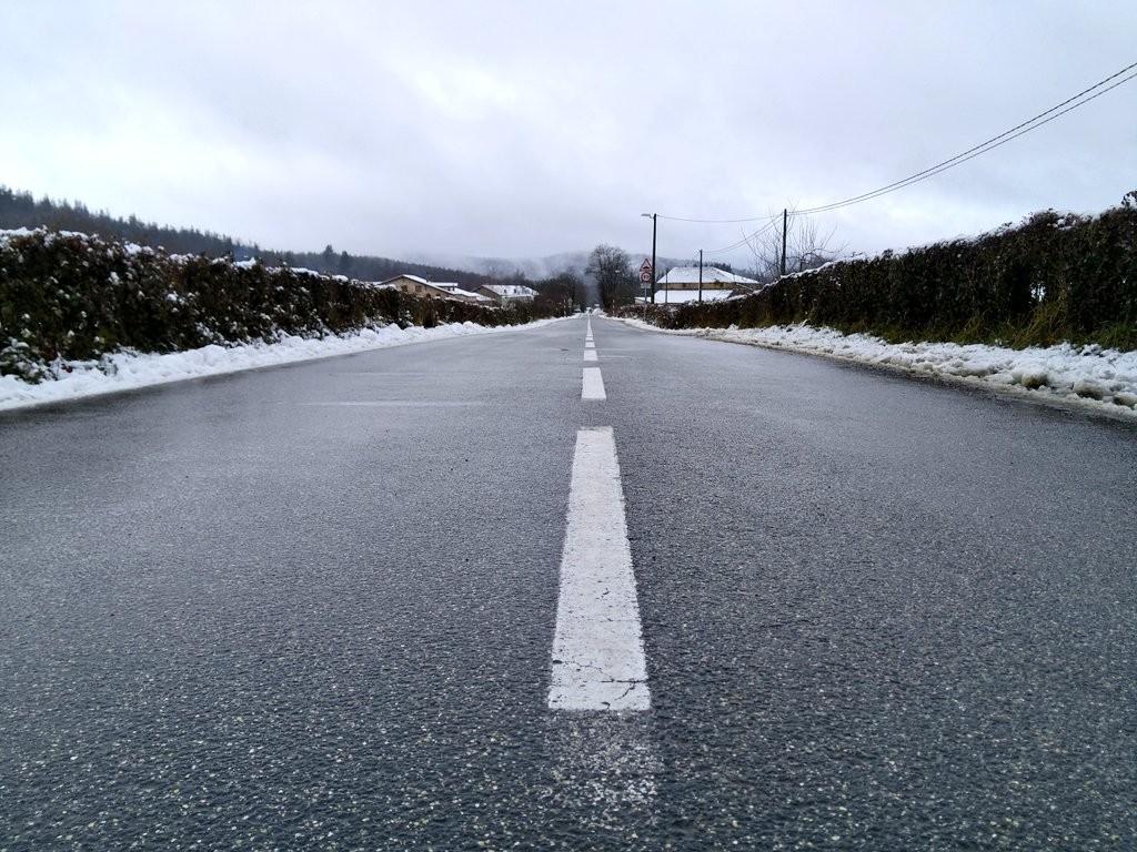 Carretera nevada, Otxandio-Oleta