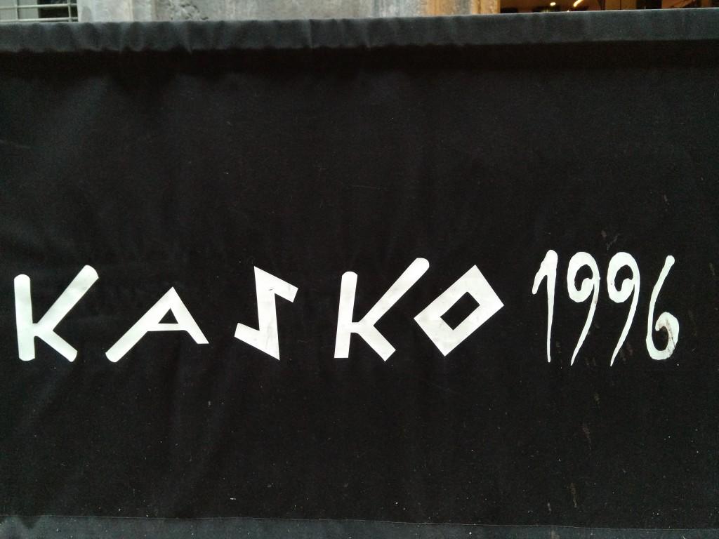 Cartel Restaurante Kasko