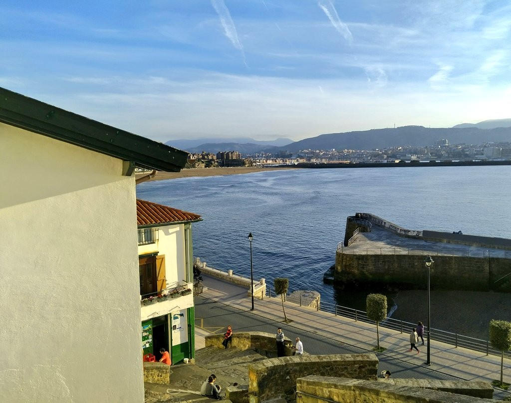 Escaleras del Puerto Viejo de Algorta, Getxo