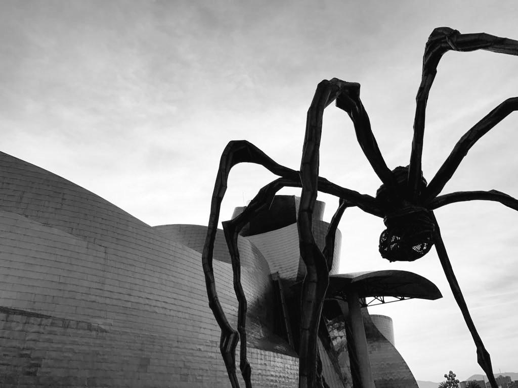 Guggenheim Bilbao y su araña