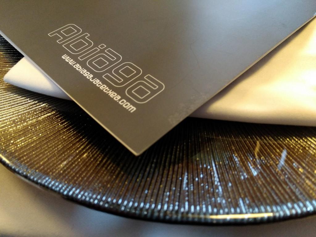 Plato restaurante Abiaga
