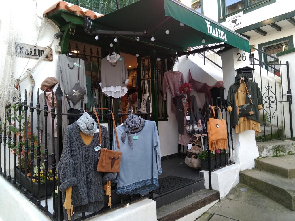 Tienda del Puerto Viejo Txalupa