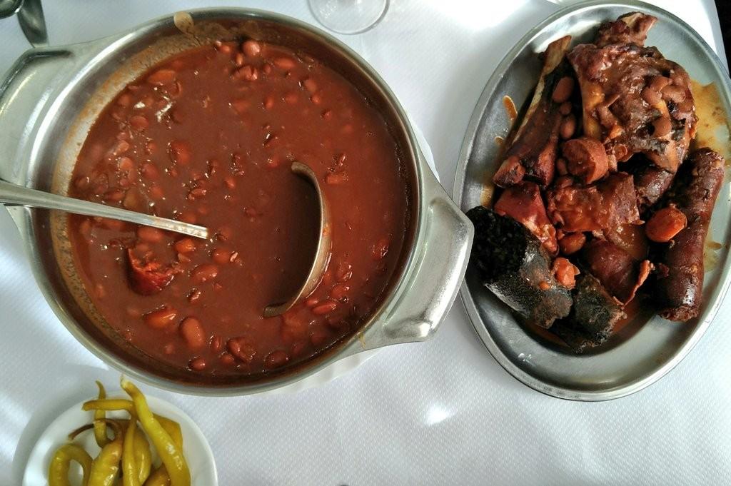 Alubiada del restaurante Urbasa