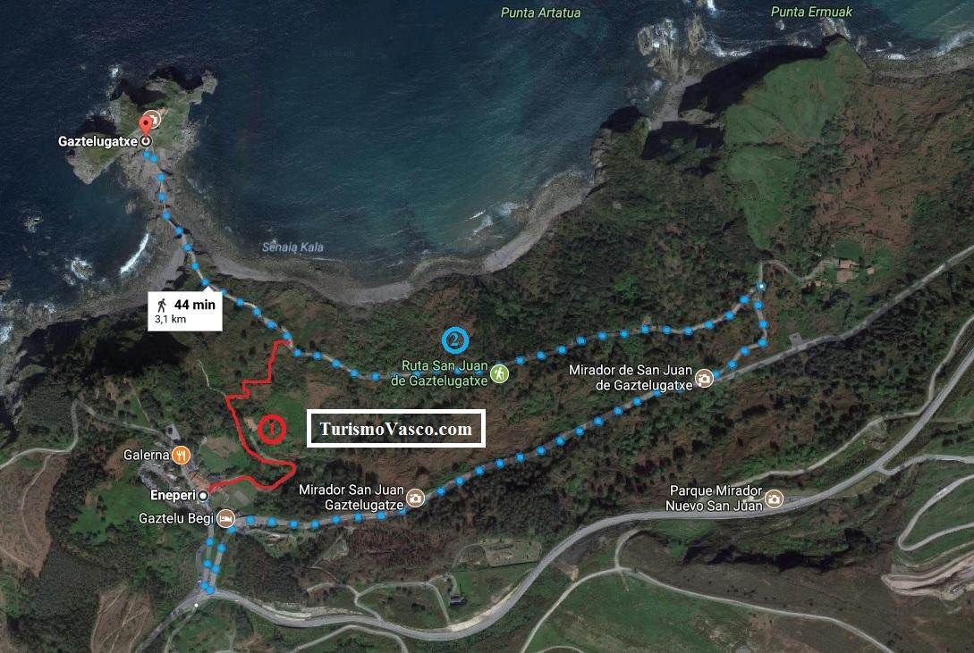 Cómo llegar a San Juan de Gaztelugatxe