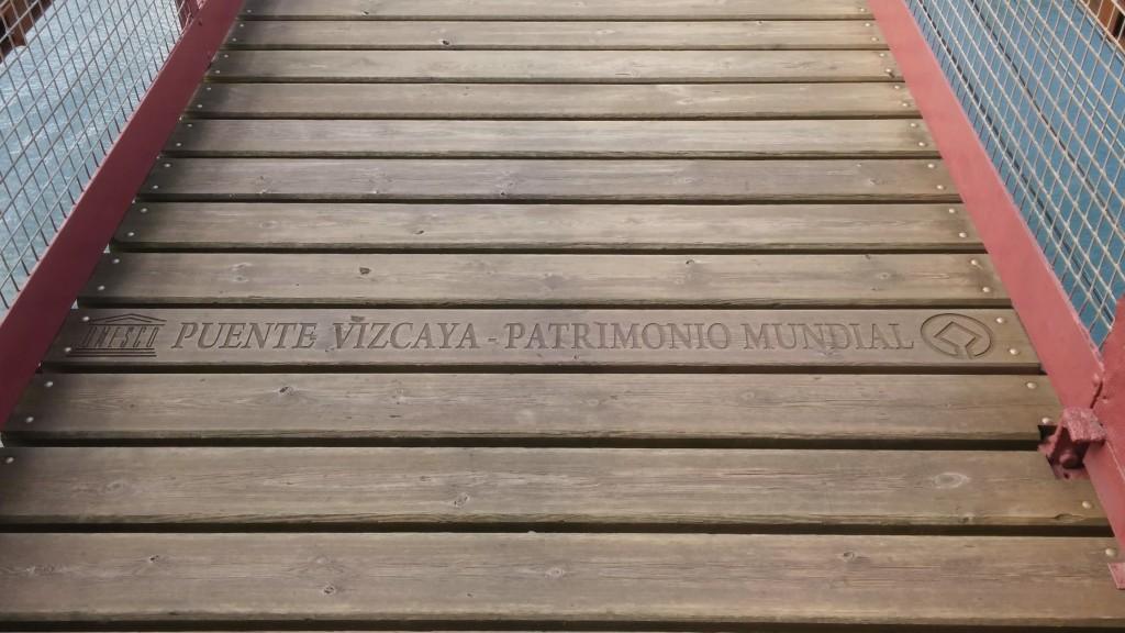Puente Bizkaia patrimonio mundial