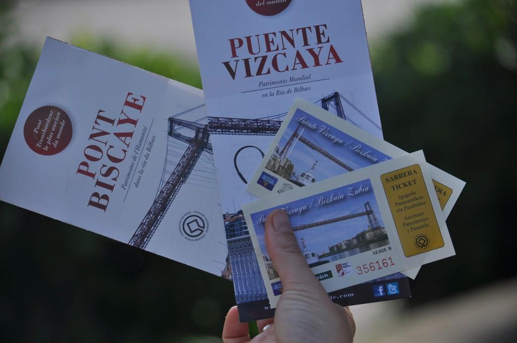 Puente Bizkaia entradas e informacion