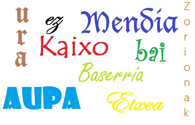 94 palabras en euskera (vasco) útiles en tu viaje al País Vasco
