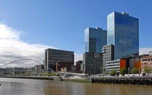 Paseo rio de Bilbao