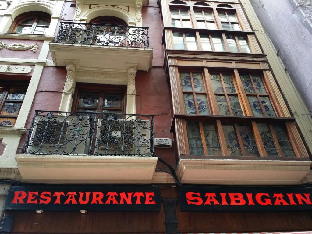 Fachada restaurante Saibigain