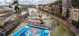 Orlando Duque Red Bull Cliff Diving Bilbao