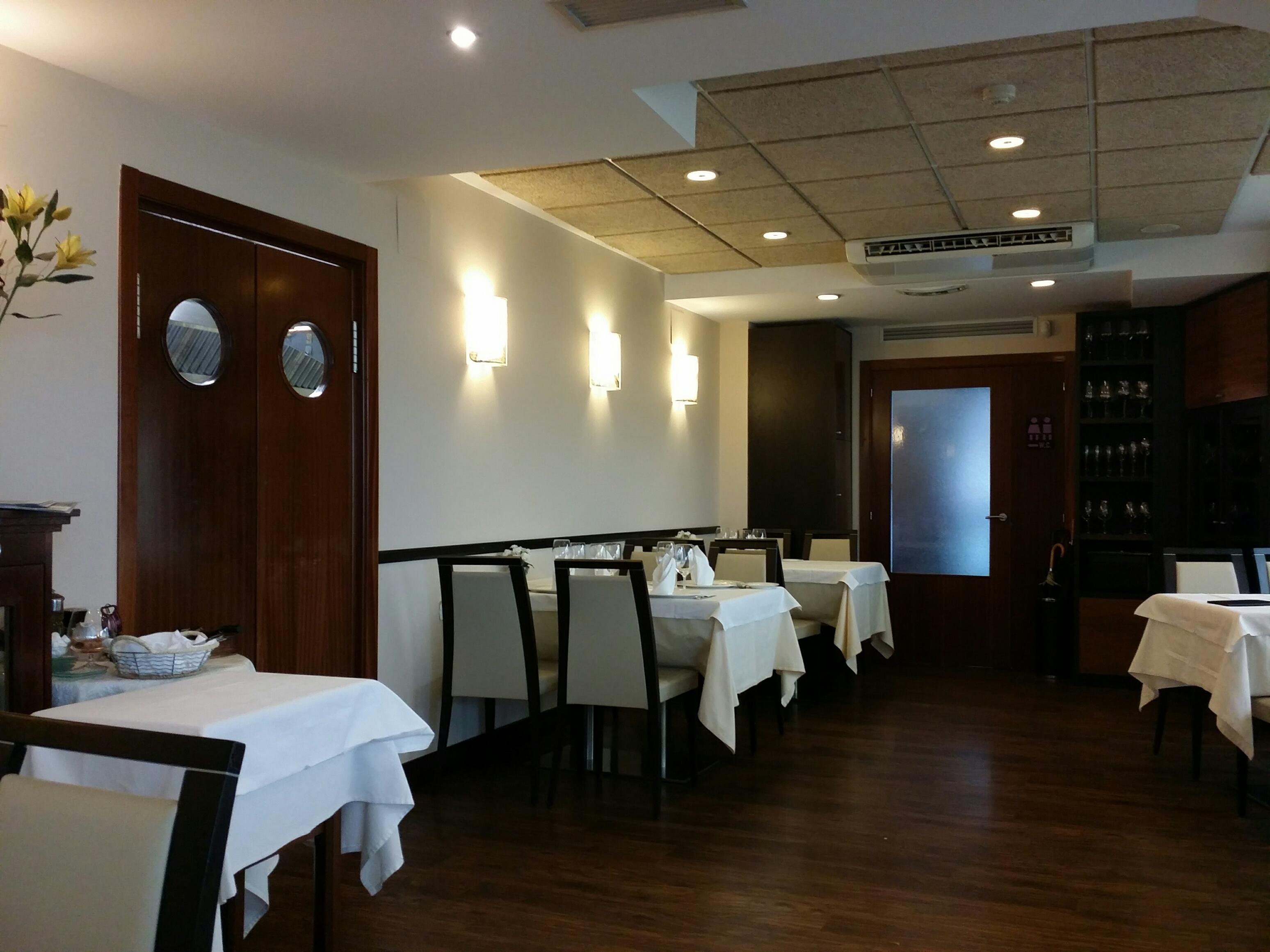 Comedor restaurante Urgain – Turismo País Vasco