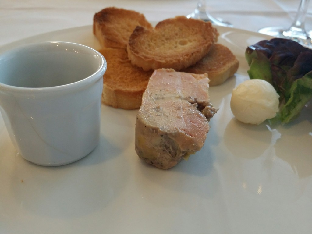 Foie casero, restaurante Urgain