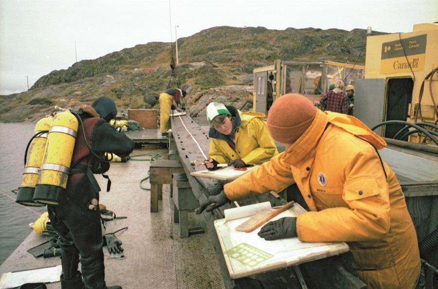 Investigación del Nao San Juan en Canada