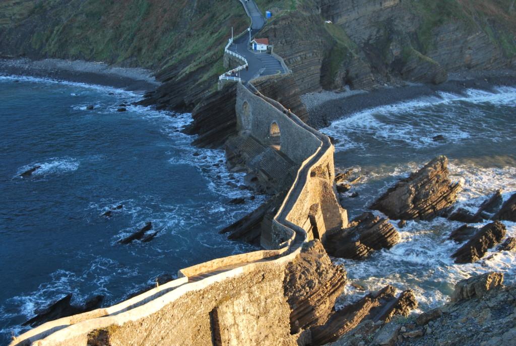 Escaleras de San Juan de Gaztelugatxe