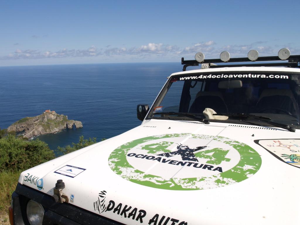 """Acreditación turística """"TurismoVasco Tiketa"""" en 4x4ocioaventura"""
