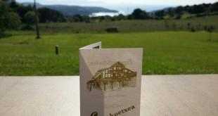 Casa rarul Larrakoetxea, tarjeta de visita