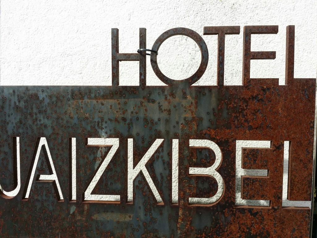 Cartel Hotel Jaizkibel