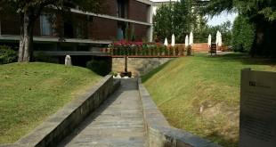 Entrada del Hotel Jaizkibel