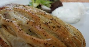 Hojaldre de pollo y bacon, Restaurante Zirikada