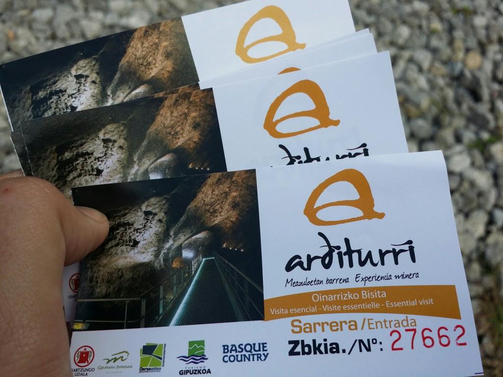Entradas Arditurri