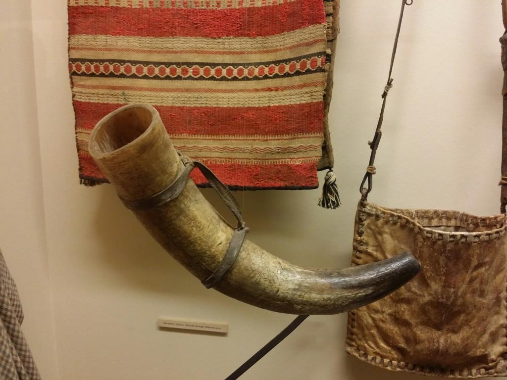 Cuerno de pastores vascos, Museo Vasco