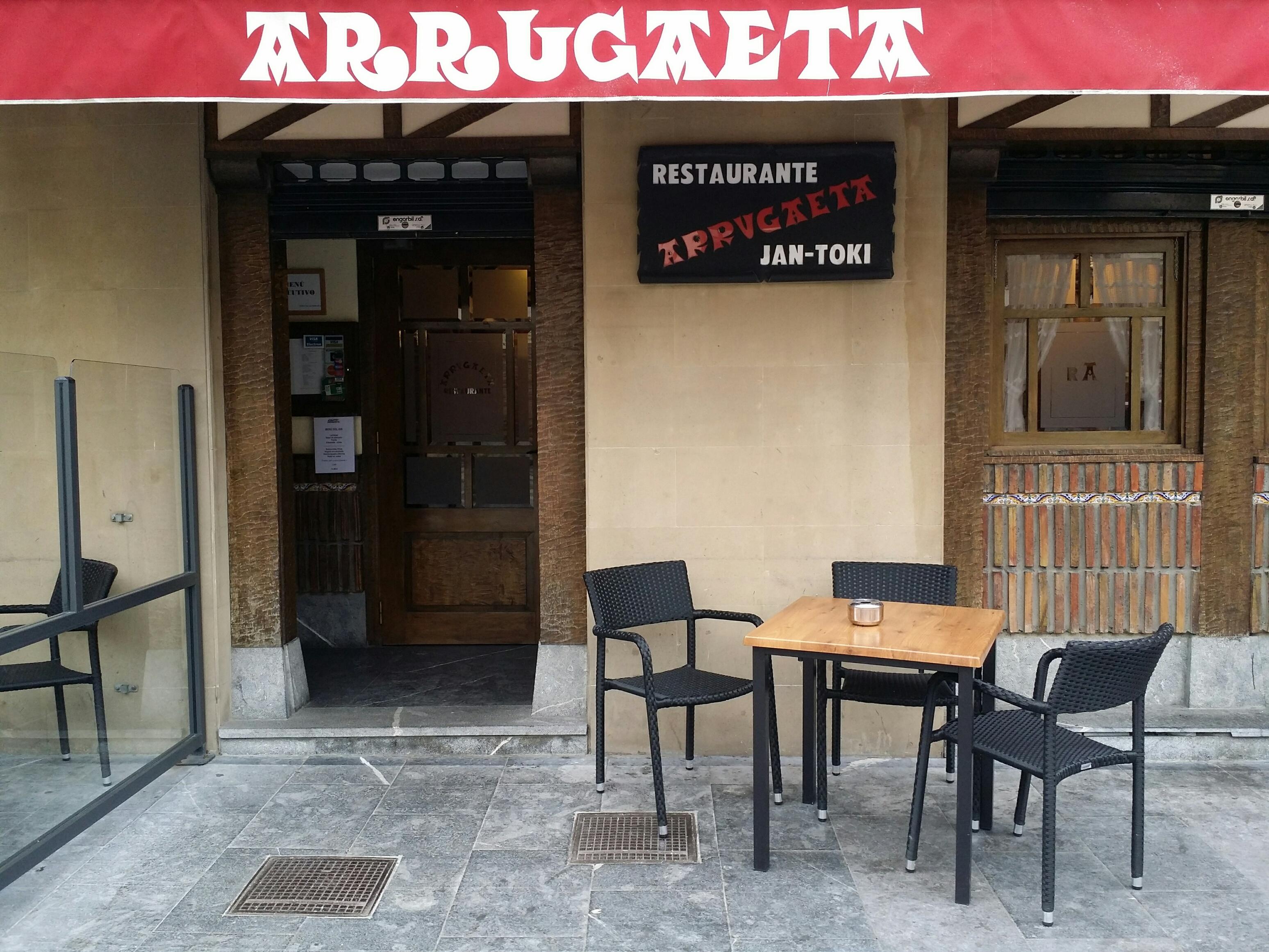 exterior restaurante arrugaeta