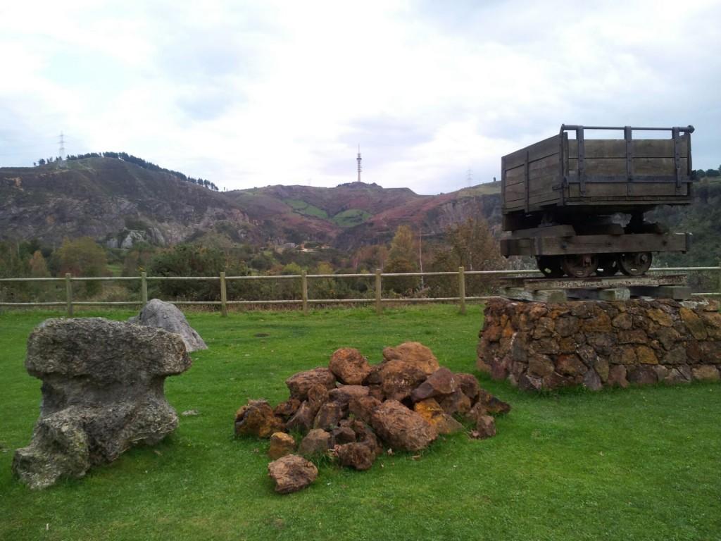 Vagoneta de la minería en La Arboleda