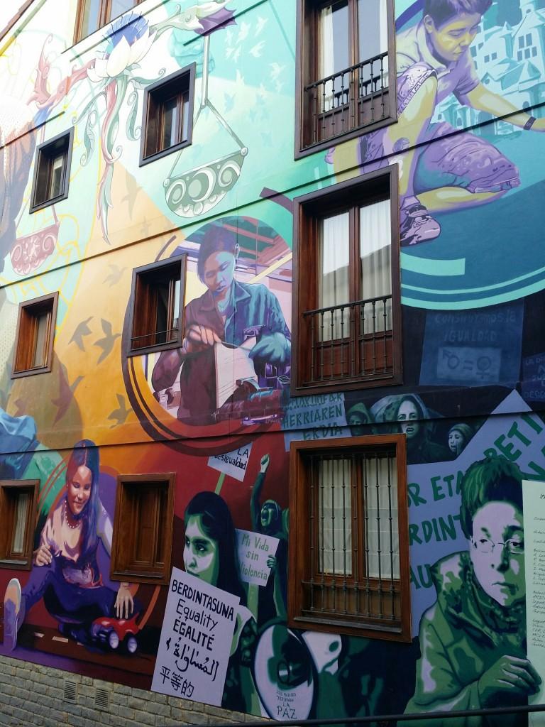 Mural Vitoria-Gasteiz