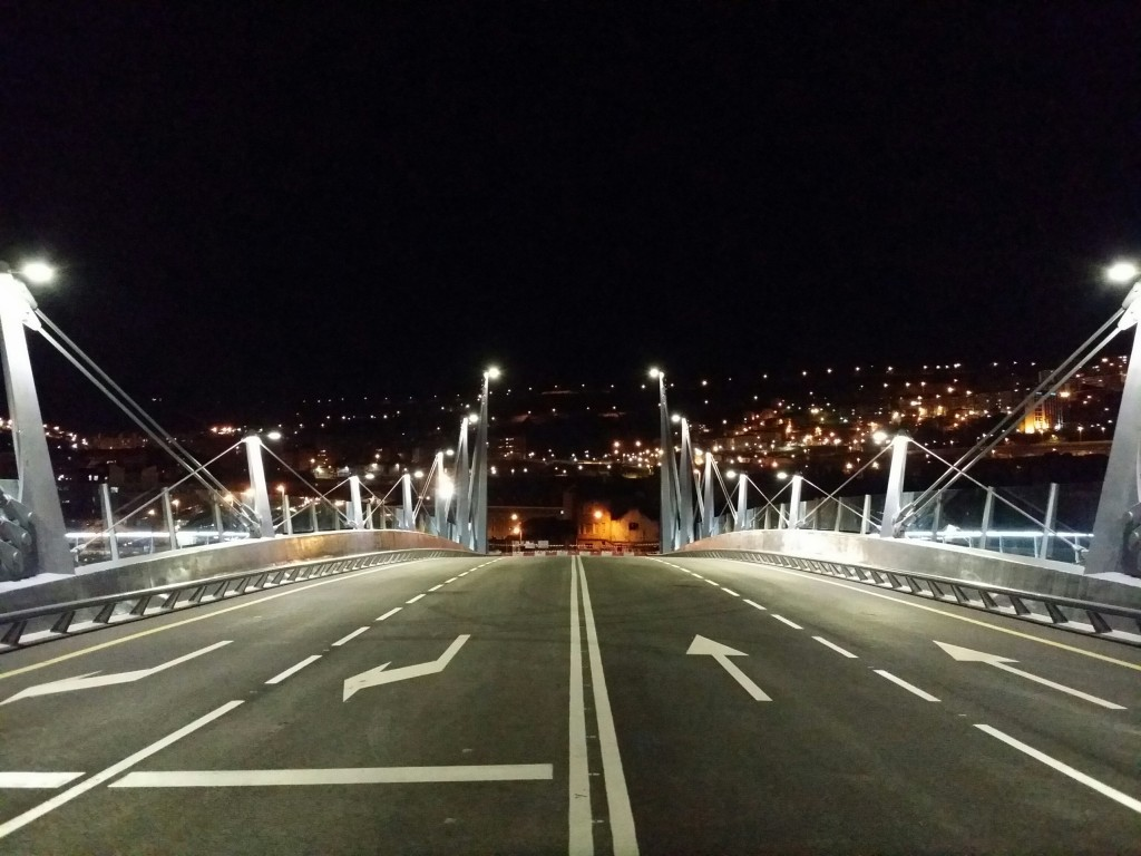 Puente Frank Gerhy de Zorrozaurre; bilbao