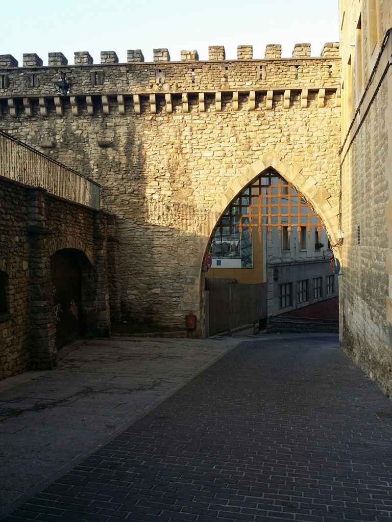 Puerta muralla Vitoria-Gasteiz