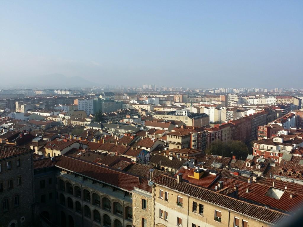 Vista desde lo alto de la catedral de Santa Maria