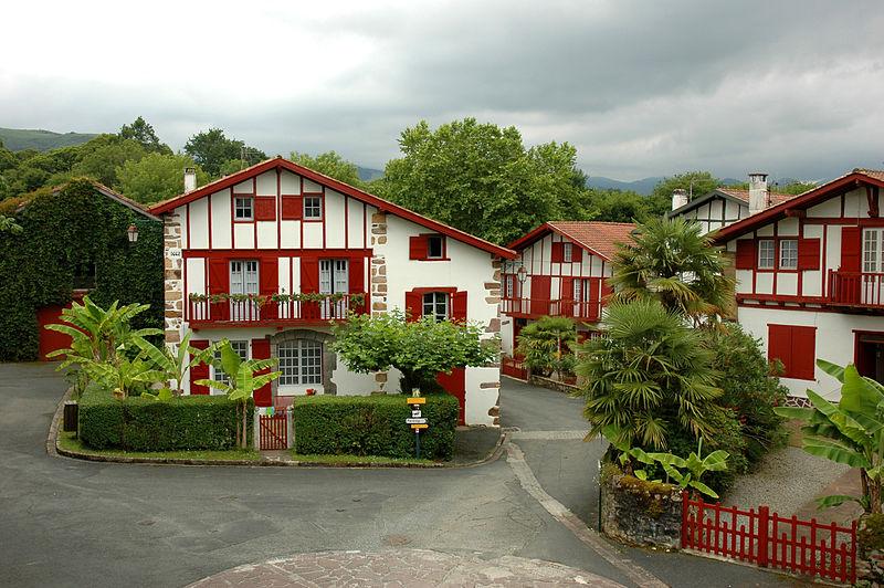 Ainhoa, iparralde, país vasco francés
