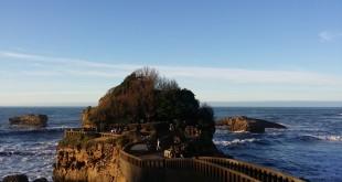 Camino hacia el mar, Biarritz