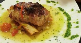 Codillo de jamón al horno, Restaurante Andrea