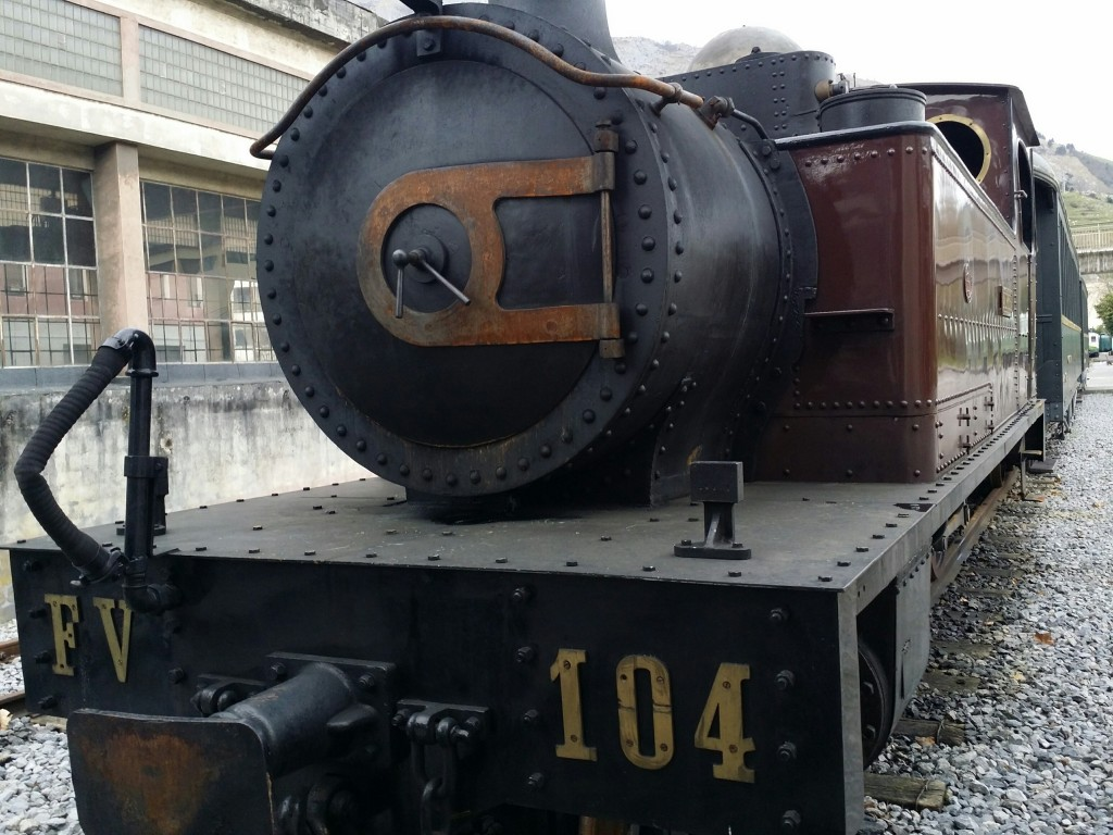 Tren de Vapor Museo Vasco del Ferrocarril