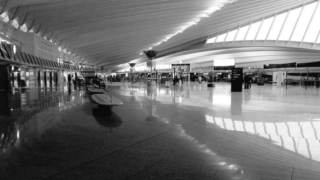 Interior Aeropuerto de Bilbao