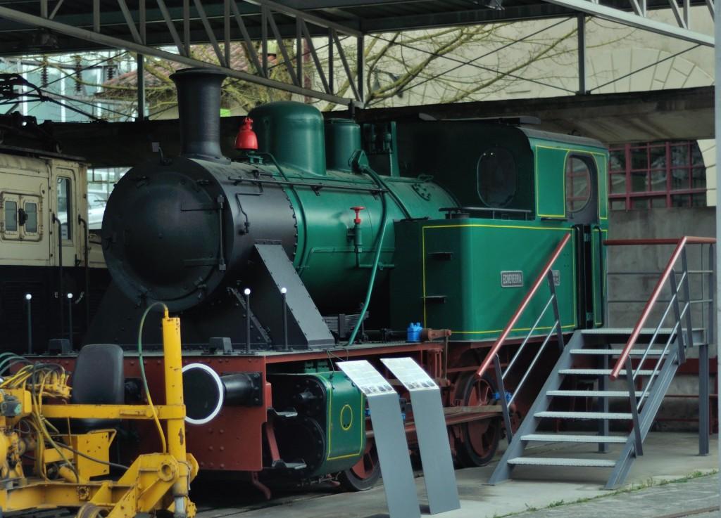 Locomotora a vapor, Museo Vasco del Ferocarril