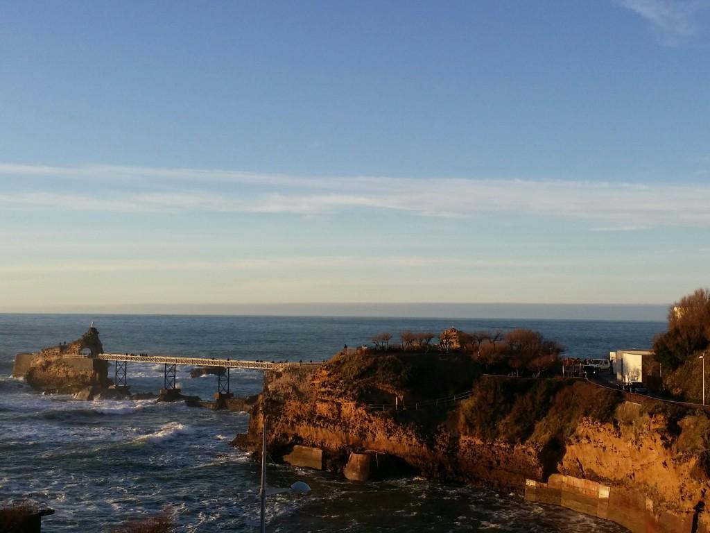 Roca de la virgen, Biarritz