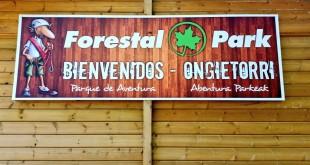 Cartel Forestal Park Bilbao