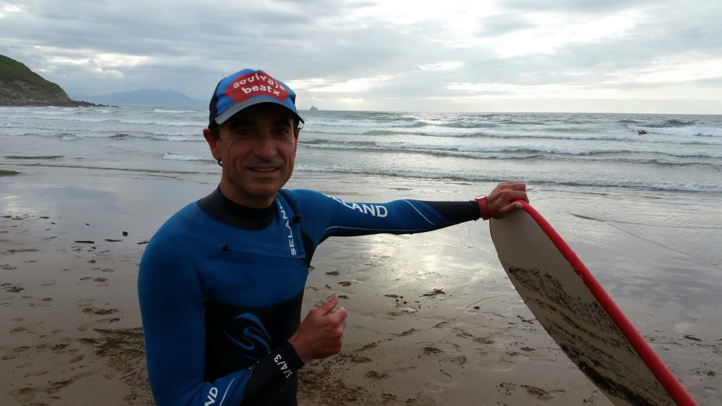 Fran, Uribe Kosta surf escola