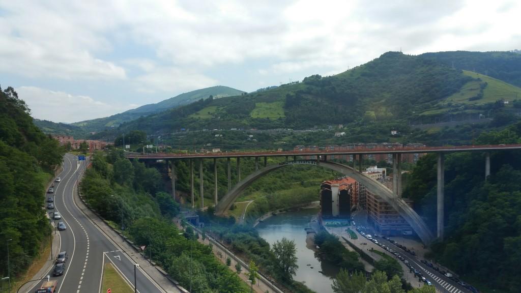 puente miraflores, Bilbao