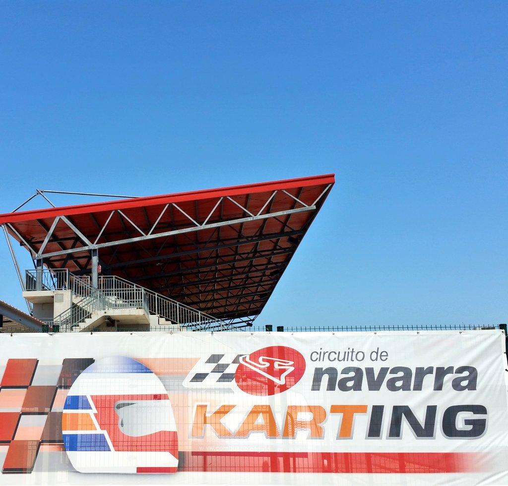 Circuito Karting : Pista de karting del circuito navarra uno los