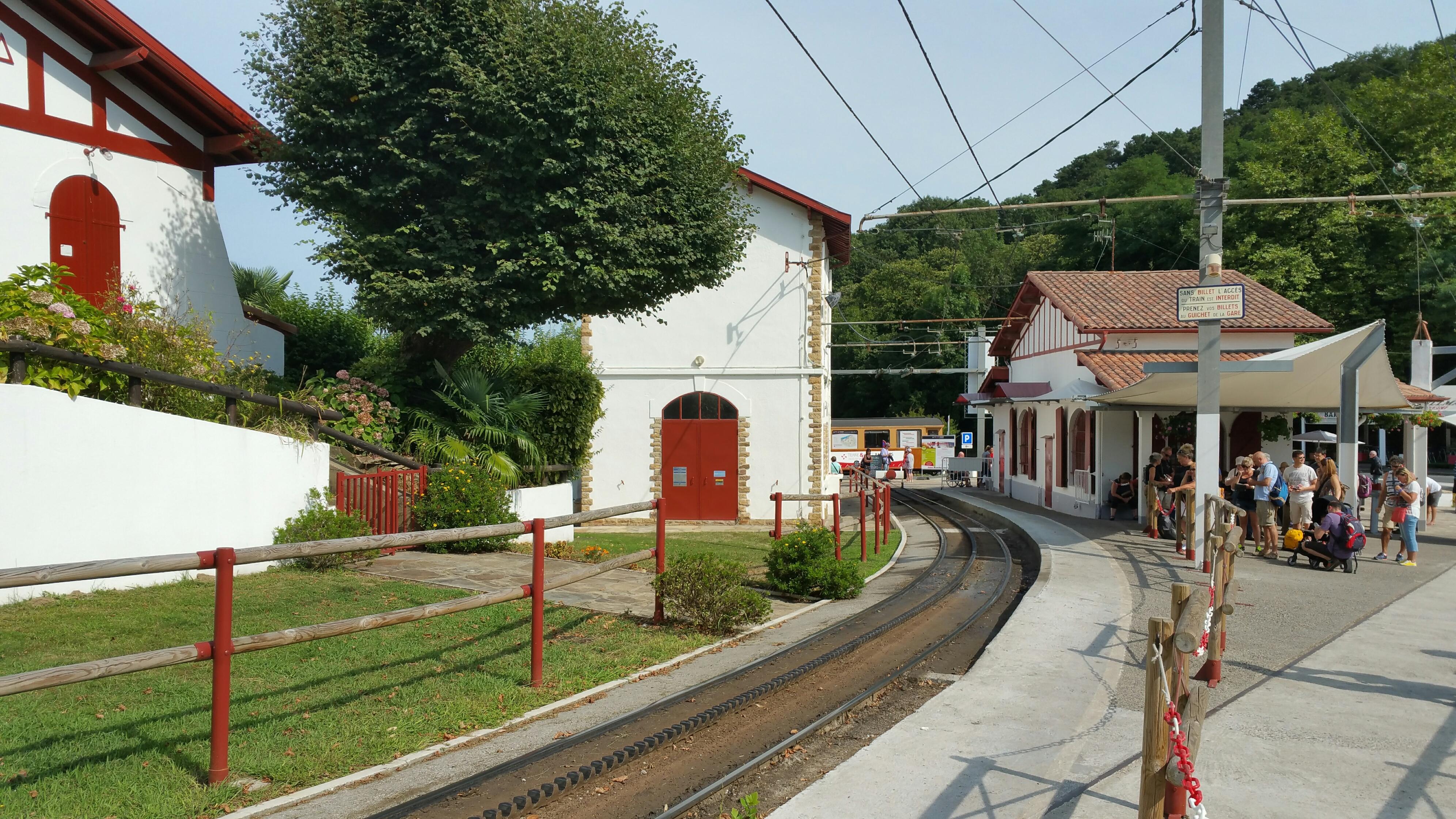 Estacion de salida del tren de larrun - Casas rurales pais vasco frances ...