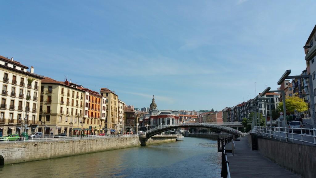 Ría de Bilbao casco viejo